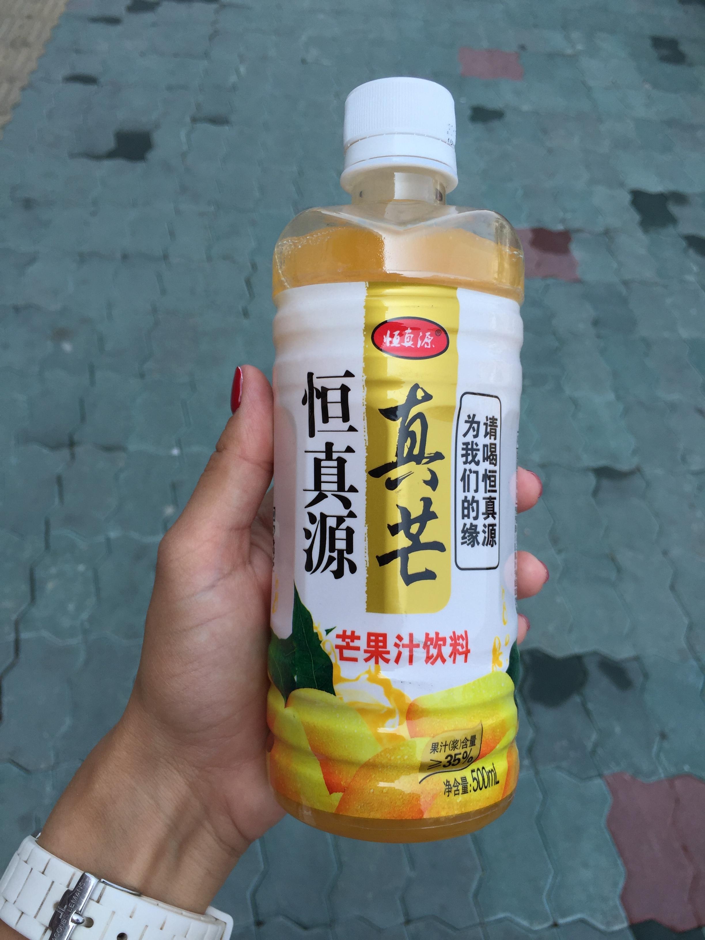 Сок манго за 4 юаня