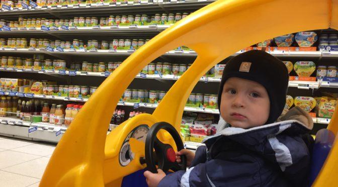 Детское питание на борту самолета и в супермаркетах