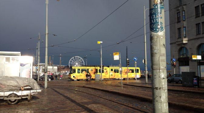 Хельсинки. Общественный транспорт и как им пользоваться бесплатно