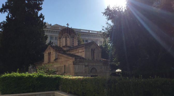 Монастираки – один из центральных районов Афин