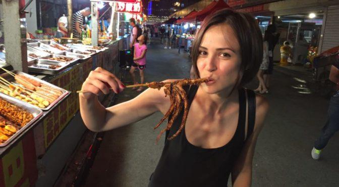 Восточный рынок в городе Хуньчунь (Китай)